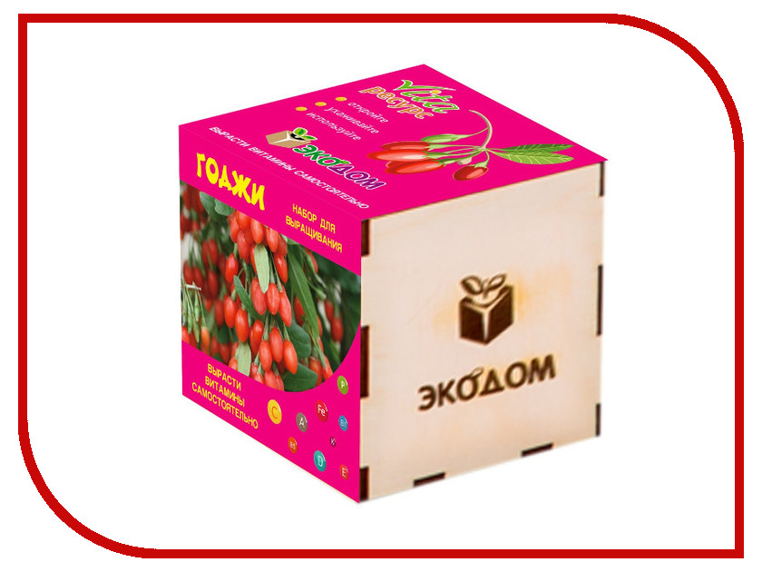 Растение ЭкоДом Годжи 1061843806920 растение экодом лаванда 1061843804452