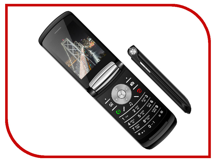 Сотовый телефон Vertex S108 Black сотовый телефон vertex c305 black
