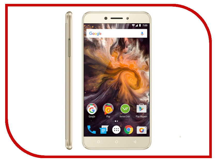Сотовый телефон Vertex Impress Blade Gold