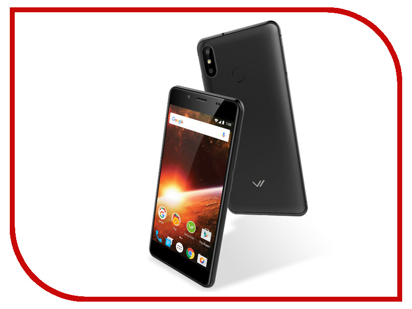 Сотовый телефон Vertex Impress Eclipse Black сотовый телефон vertex c308 black