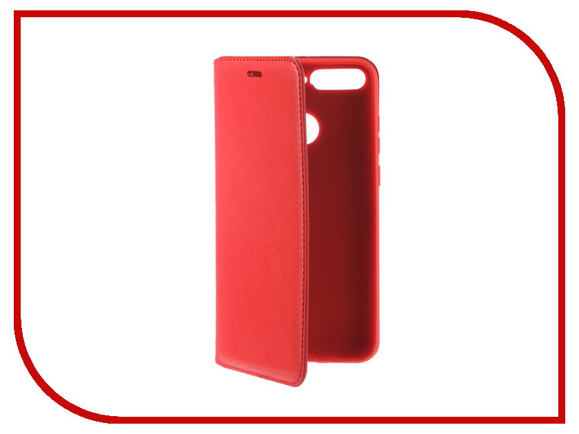 Аксессуар Чехол для Huawei Honor 7A Pro Gurdini Premium Silicone Red 906540 gangxun huawei honor 8 pro case anti slippery устойчивая к царапинам легкая мягкая задняя обложка из кремния для чести v9