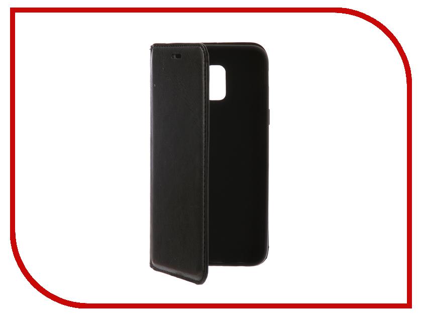 Аксессуар Чехол для Samsung Galaxy J6 2018 Gurdini Premium Silicone Black 906537 mooncase soft silicone gel side flip pouch hard shell back чехолдля samsung galaxy s6 black