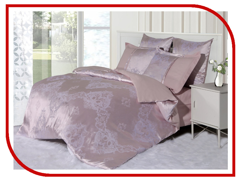 Постельное белье Cleo 21/047-SG Комплект 2 спальный Сатин