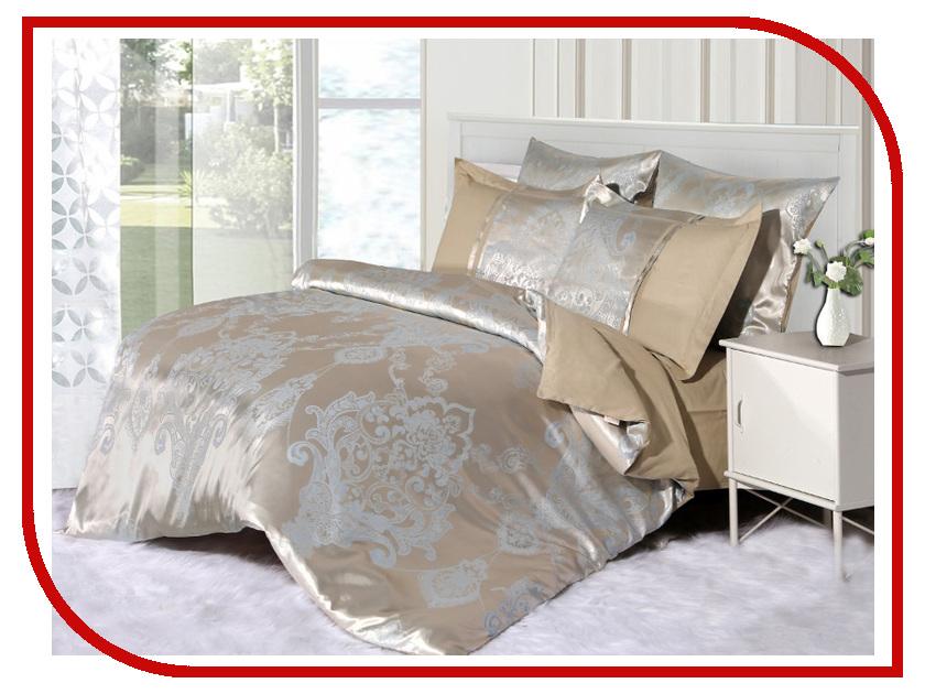 Постельное белье Cleo 21/053-SG Комплект 2 спальный Сатин постельное белье cleo постельное белье siracusa 2 спал