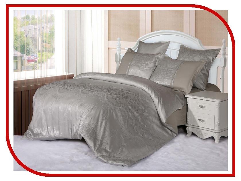 Постельное белье Cleo 21/058-SG Комплект 2 спальный Сатин постельное белье cleo постельное белье siracusa 2 спал