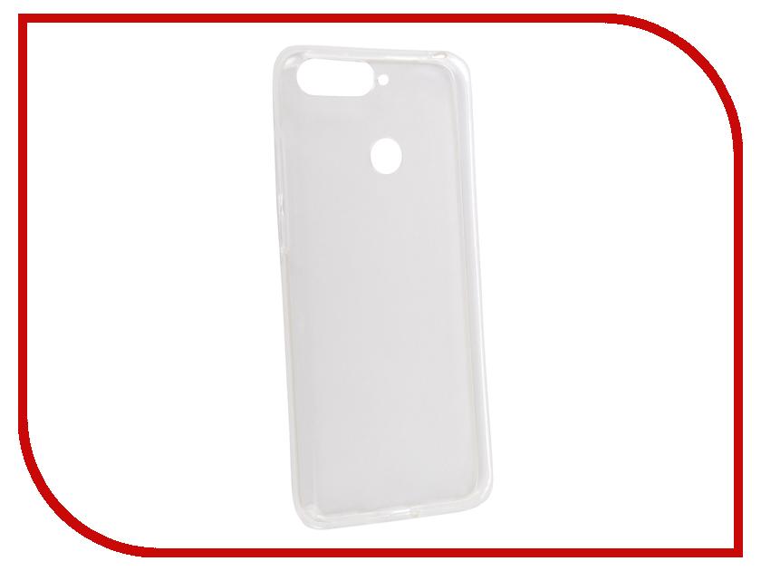 Аксессуар Чехол для Huawei Honor 7C Pro iBox Crystal Transparent аксессуар чехол для samsung galaxy a6 plus ibox crystal silicone transparent