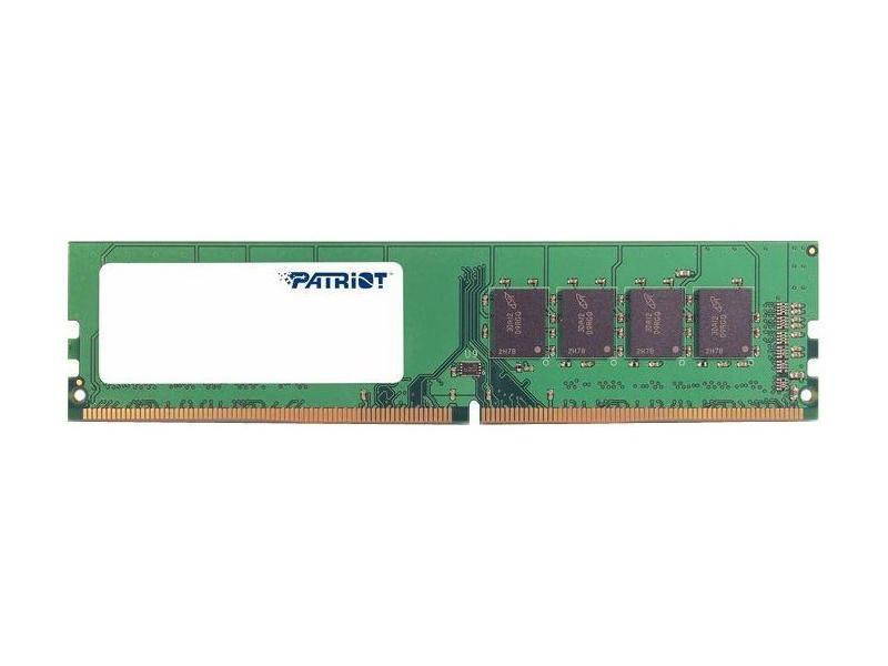 Модуль памяти Patriot Memory DDR4 DIMM 2400MHz PC4-19200 - 4Gb PSD44G240082