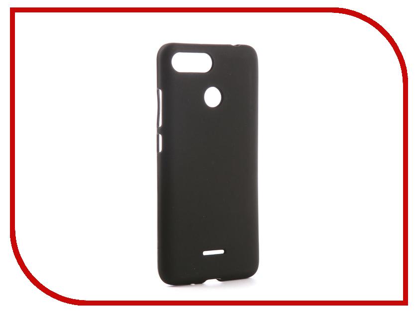 Аксессуар Чехол для Xiaomi Redmi 6 Svekla Silicone Black SV-XIRMI6-MBL