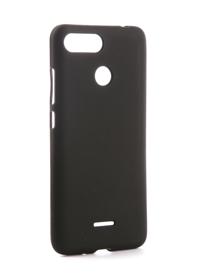 Аксессуар Чехол Svekla для Xiaomi Redmi 6 Silicone Black SV-XIRMI6-MBL