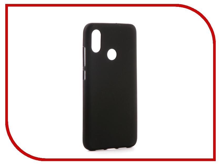 Аксессуар Чехол для Xiaomi Mi8 Svekla Silicone Black SV-XIMI8-MBL аксессуар чехол для samsung galaxy a5 2017 a520f svekla silicone black sv sga520f mbl