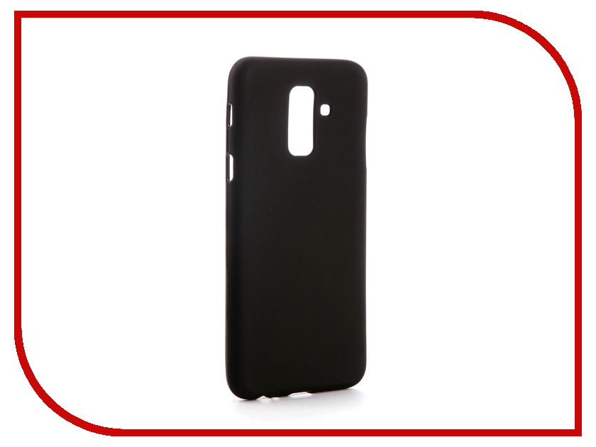 Аксессуар Чехол для Samsung Galaxy J8 J810 2018 Svekla Silicone Black SV-SGJ810F-MBL sumeet desai what you need to know about economics
