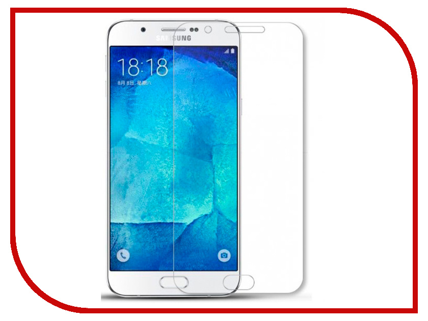 Купить Аксессуар Защитное стекло для Samsung Galaxy A8 Plus 2018 Innovation 12505