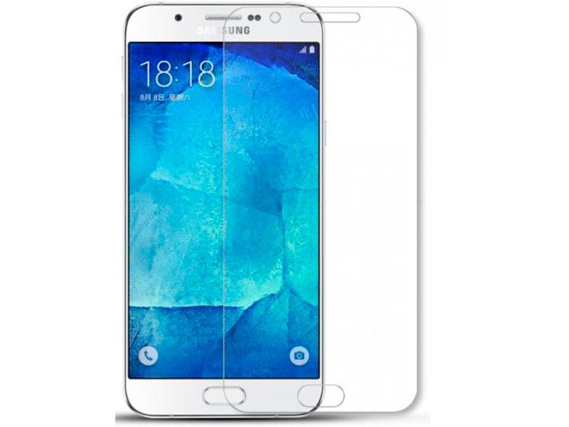 Аксессуар Защитное стекло Innovation для Samsung Galaxy A8 Plus 2018 12505 аксессуар противоударное стекло для samsung galaxy a8 plus innovation 2d full glue cover gold 12818