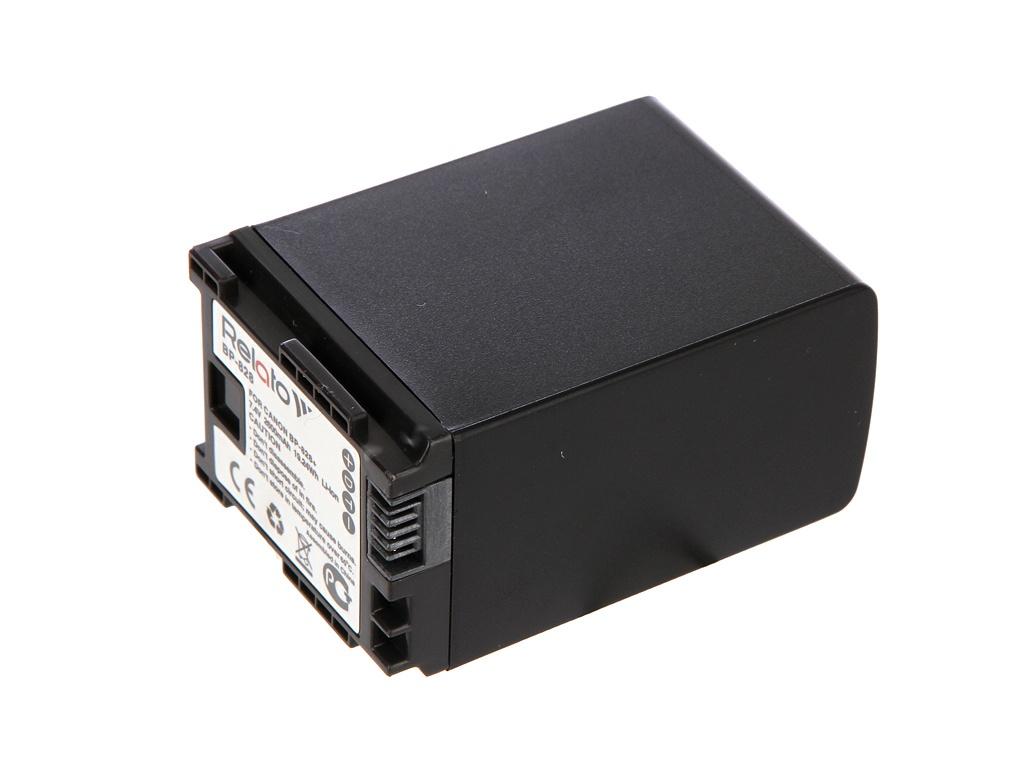 Фото - Аккумулятор Relato BP-828 для Canon XA11/XA15/XA30/XA35/XF400/XF405/LEGRIA GX10/HF G40 аккумулятор digicare plc bp828 bp 828 bp 820 для canon