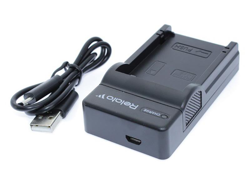 Зарядное устройство Relato CH-P1640/S004E для Panasonic S004E/Fuji NP-40/NP-60/NP-120/NP-95/Samsung SLB-0737/SLB-0837/SLB-1037/SLB-1137/Olympus Li-20B/Casio NP-30/Kodak KLIC-5000/KLIC-5001/ KLIC-7005/ Pentax D-LI2/ D-LI7/ D-LI8 аккумулятор relato np bg1