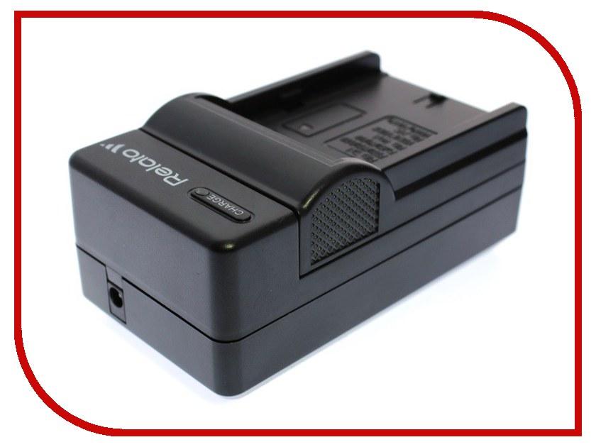 Зарядное устройство Relato CH-P1640/S007E для Panasonic S007E/S005E/S008E/DMW-BCC12/BCD10/BCE10/Fuji NP-70/Samsung IA-BH125C/BP-125A зарядное устройство relato ch p1640 nb12l для canon nb 12l 13l
