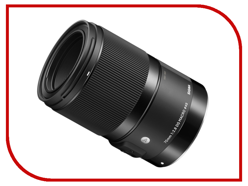 Zakazat.ru: Объектив Sigma Canon AF 70 mm F/2.8 DG Macro Art