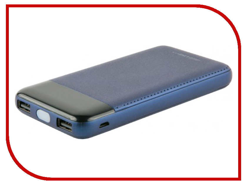 Фото - Аккумулятор Red Line T8 8000mAh Blue внешний аккумулятор для портативных устройств hiper circle 500 blue circle500blue