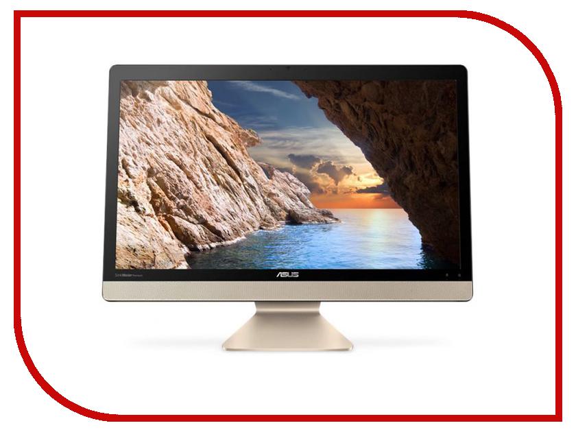 Моноблок ASUS AIO V221ICUK-BA058R Black 90PT01U1-M06720 (Intel Pentium 4405U 2.1 GHz/4096Mb/1000Gb/Intel HD Graphics/Wi-Fi/Bluetooth/Cam/21.5/1920x1080/Windows 10 Pro 64-bit) настольный компьютер hp 260 g2 desktop mini 2tp10ea intel pentium 4405u 2 1 ghz 4096mb 500gb intel hd graphics windows 10 pro 64 bit