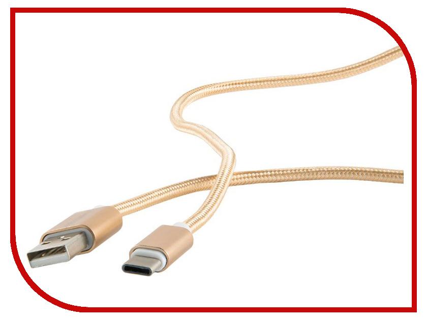 Аксессуар Red Line USB - Type-C 3.0 Nylon Braid Gold аксессуар red line usb 8 pin 2m eco leather braid red
