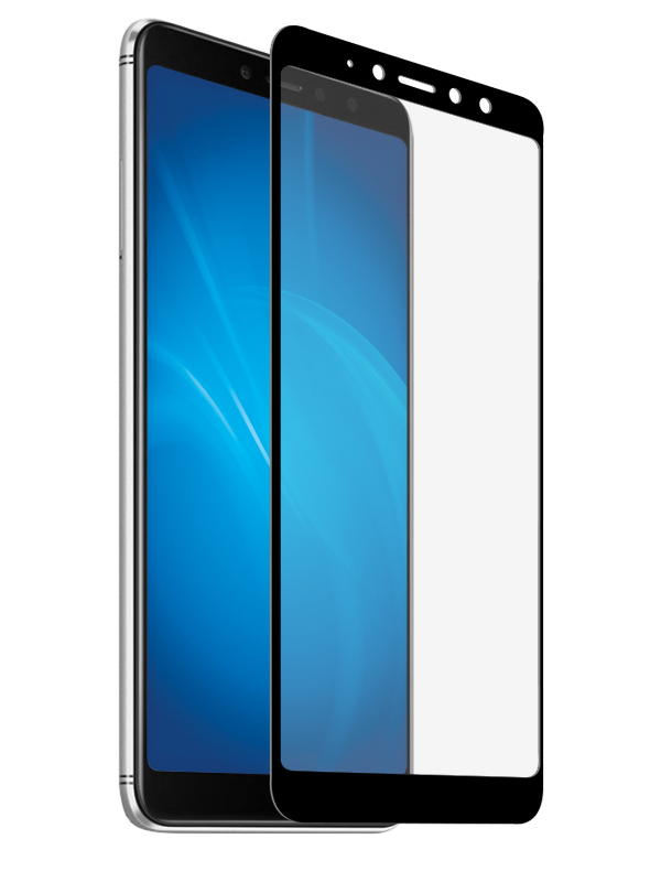 Аксессуар Защитно стекло Red Line для Xiaomi Redmi S2 Full Screen Tempered Glass Black