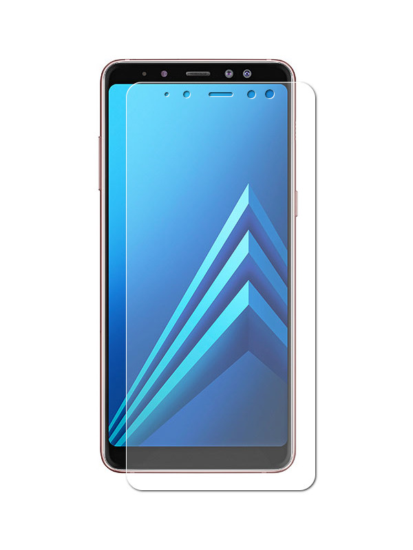 Аксессуар Защитная пленка Red Line для Samsung Galaxy A8 2018 А530 Plus 2018 аксессуар гибридная защитная пленка для samsung galaxy j8 2018 red line ут000015487