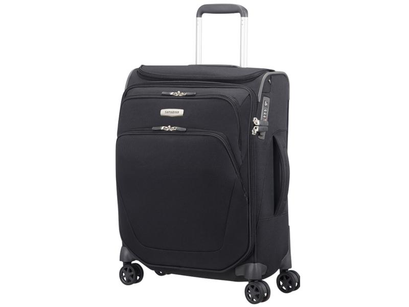 Чемодан Samsonite Spark SNG 40x55x20cm 43L Black 65N-09005 сумка тележка samsonite сумка дорожная spark sng