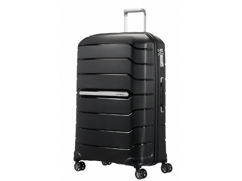 Чемодан Samsonite Flux 52x75x31cm 121L Black CB0-09003 чемодан samsonite чемодан 56 см flux soft 45x56x25 см