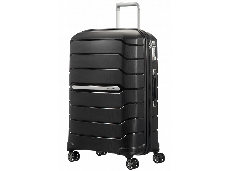 Чемодан Samsonite Flux 47x68x30cm 95L Black CB0-09002 чемодан samsonite чемодан 56 см flux soft 45x56x25 см