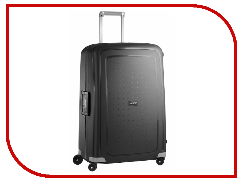 Чемодан Samsonite SCure 52x75x31cm 102L Black 10U-09002 чемодан на колесах samsonite 10u 10002