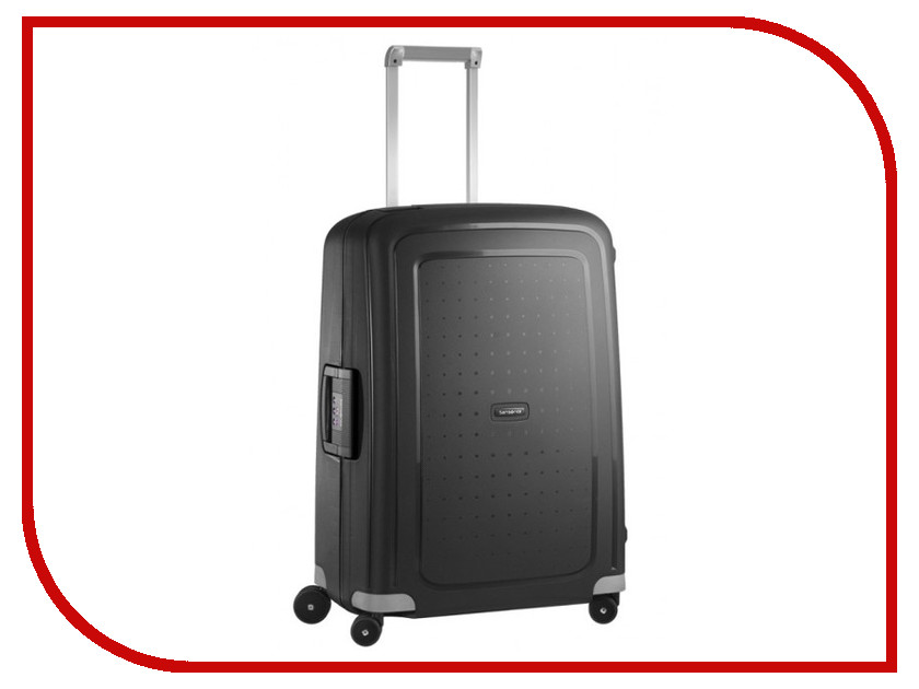 Чемодан Samsonite SCure 49x69x29cm 79L Black 10U-09001 чемодан на колесах samsonite 10u 10002