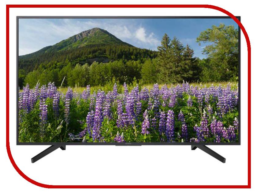Телевизор Sony KD-49XF7096 шкатулка leader 12w kd