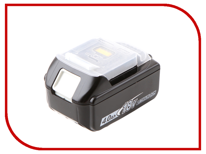 Аккумулятор Makita ВL1840 Li-ion 18V 4Ah 197265-4 5000mah rechargeable lithium ion replacement power tool battery packs for makita 18v bl1830 bl1840 bl1850 lxt400 194205 3 p25