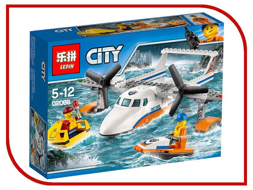 Конструктор Lepin Спасательный самолет береговой охраны 02066 конструктор самолет heros конструктор самолет