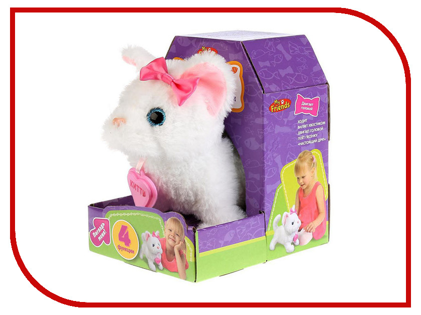 Игрушка My Friends Котенок Китти JX-4102 figures houses girl friends stephanie mia olivia andrea emma andrea blocks learning toy gift compatible with with friends gift