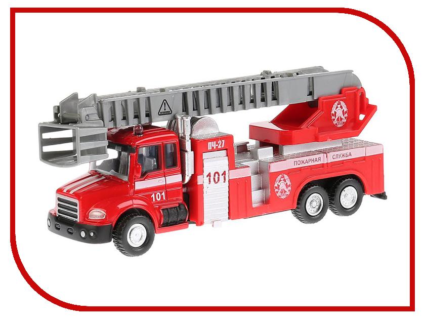 Игрушка Технопарк Пожарная машина 251A1-R мальцева и мои первые буквы 4 книжки кубика