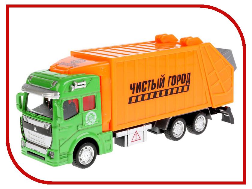 Игрушка Технопарк Мусоровоз 2211-1R игрушка tonka minis мусоровоз musorovoz ast51296