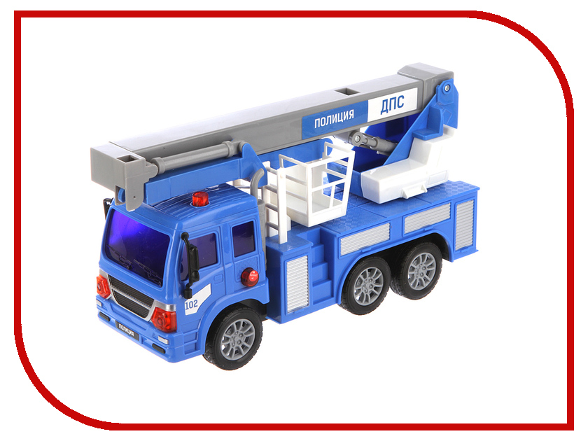 Игрушка Drift Подъёмник полицейский 70388 игрушка drift подъёмник строительный 70396