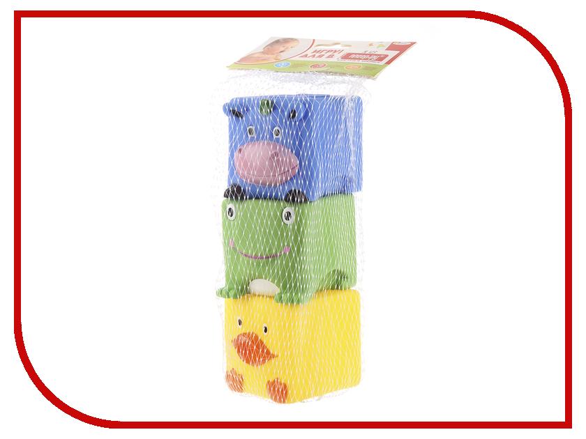 Игрушка Играем вместе Кубики 3шт LNX27-28-32 игрушка кубики