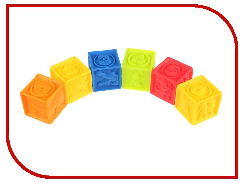 Игрушка Играем вместе Кубики 6шт LXN-3C-6 игрушка кубики