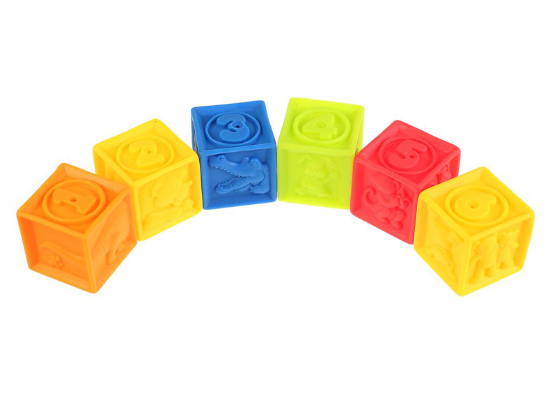 Игрушка Набор игрушек Играем вместе Кубики 6шт LXN-3C-6