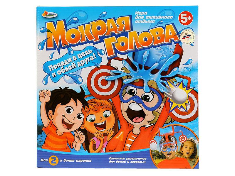 Настольная игра Играем вместе Мокрая голова 1708K621-R настольная игра играем вместе освободи зайку b756704 r