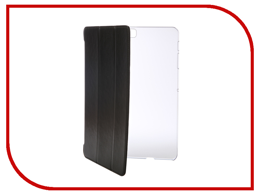 Аксессуар Чехол для Samsung Galaxy Tab S2 T815/T819 LTE 9.7 iBox Premium Black-Transparent УТ000007716 аксессуар чехол microsoft lumia 550 ibox crystal transparent