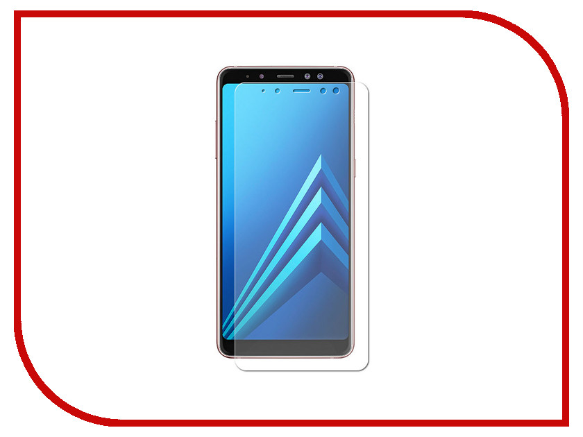 Аксессуар Защитная пленка для Samsung Galaxy A8 2018 A530 Red Line УТ000014306 аксессуар гибридная защитная пленка для samsung galaxy j8 2018 red line ут000015487
