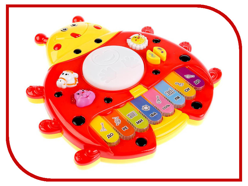 Детский музыкальный инструмент Умка Пианино B1238209-R детский ударный музыкальный инструмент orff