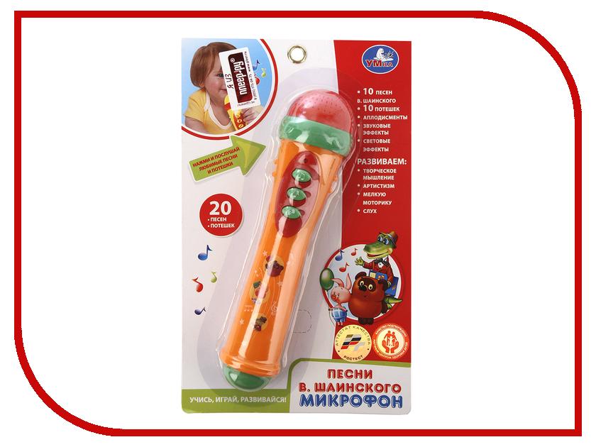 Детский музыкальный инструмент Умка Микрофон B1082812-R11 детский музыкальный инструмент умка электрогитара 1312m144