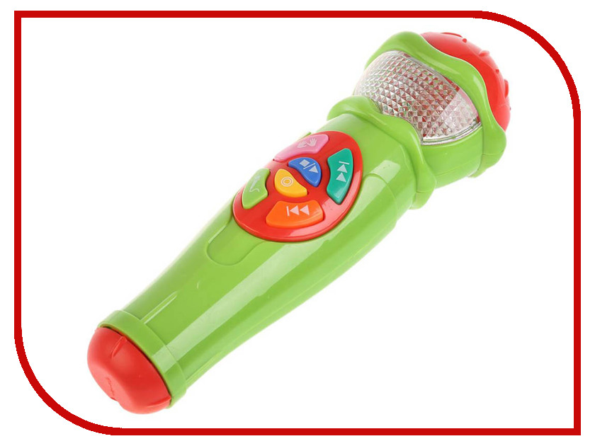 Детский музыкальный инструмент Умка Микрофон A848-H05031-R10 детский ударный музыкальный инструмент orff