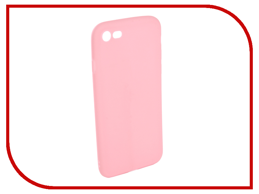 Аксессуар Чехол для APPLE iPhone 7 / 8 EVA Silicone Pink IP8A001P-7 uag iphone7 4 7 дюйма падение сопротивления mobile shell чехол для apple iphone7 iphone6s iphone6 алмазный желтый бриллиант