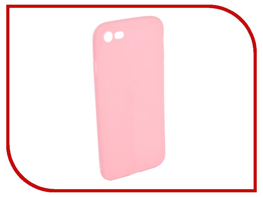 Аксессуар Чехол EVA Silicone для APPLE iPhone 7/8 Pink IP8A001P-7 аксессуар чехол ipapai ассорти сладости для apple iphone 7 120120 7