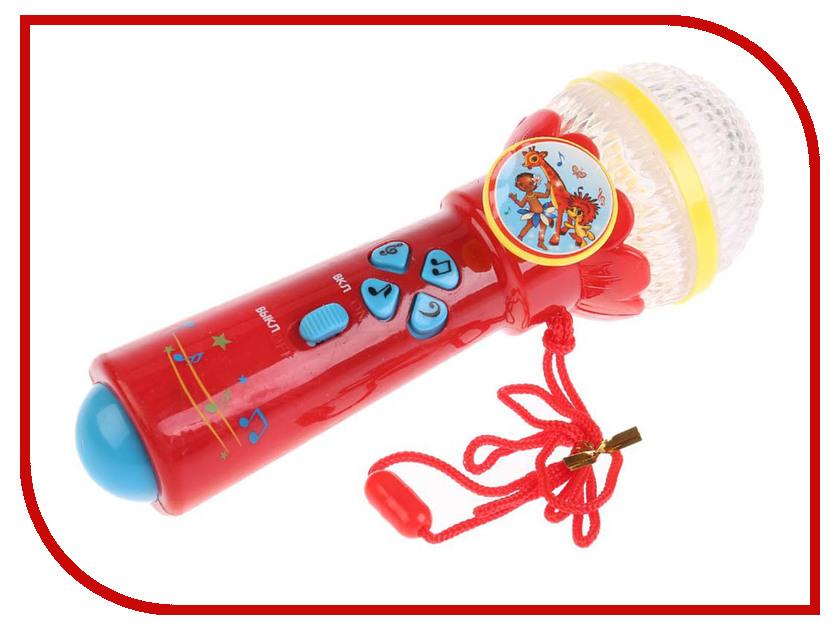 Детский музыкальный инструмент Умка Микрофон B1252960-R2 детский музыкальный инструмент умка электрогитара 1312m144